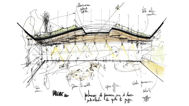 HQ Welcome - Sketch di progetto 04 ATIproject