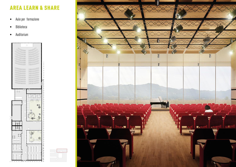 Pianta Piano Terra _ Auditorium ATIproject}