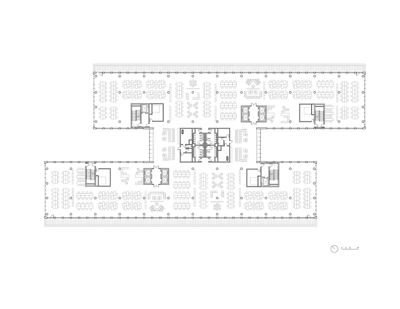 5th floor plan HWKN}