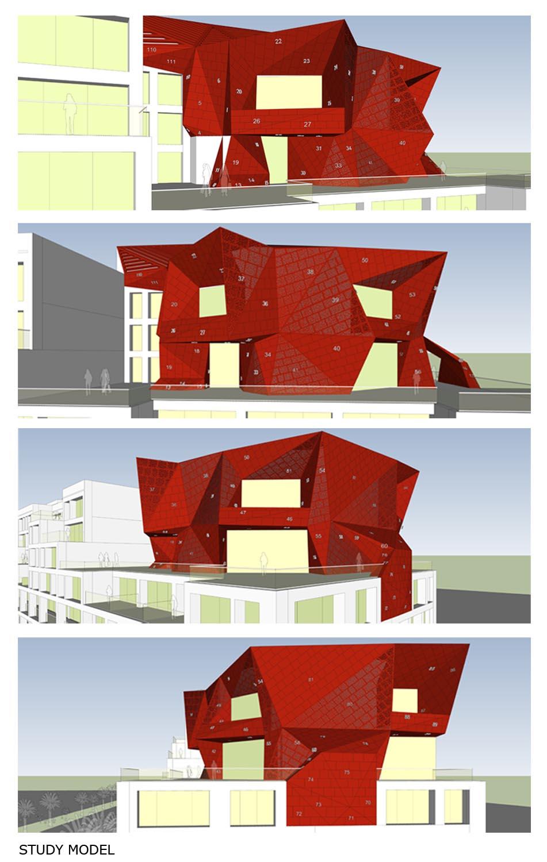 STUDY MODEL SANJAY PURI ARCHITECTS}