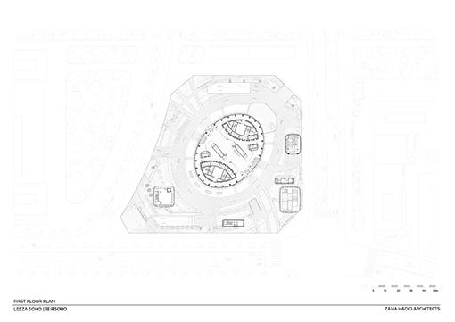 Ground Floor © Zaha Hadid Architects}