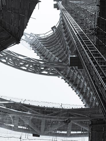 Construction Photo © Zaha Hadid Architects}