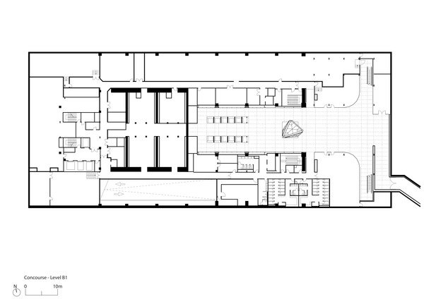 Floor plan Foster + Partners}