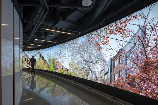 Comcast Technology Center - Interior underground tunnel Nigel Young
