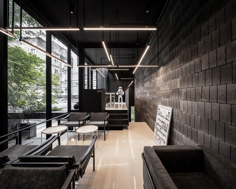 Sitting area in the upper floor of the cafe. Ketsiree Wongwan