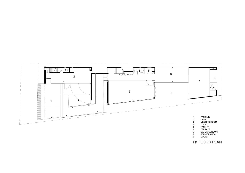 1st floor plan IDIN Architects}