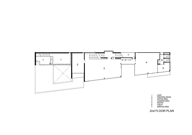2nd floor plan IDIN Architects}