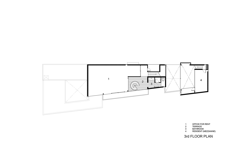 3rd floor plan IDIN Architects}
