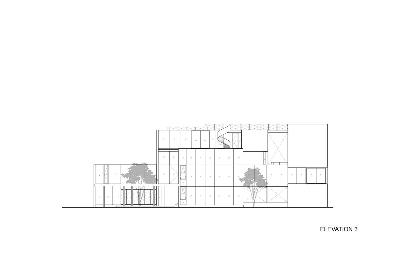 Right elevation IDIN Architects}