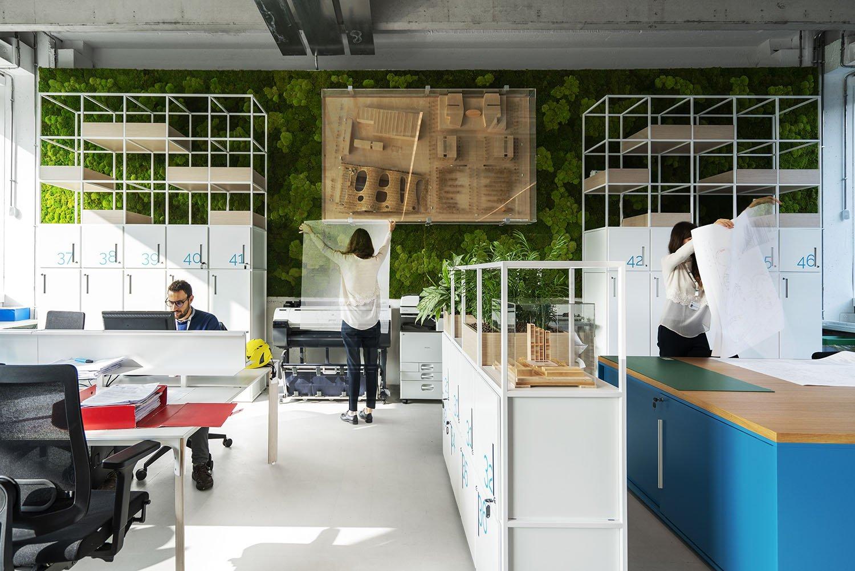 A new workplace design on human scale Ph. Andrea Martiradonna