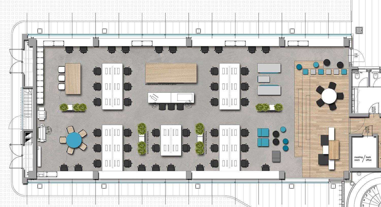 Concept Layout ground floor Progetto CMR}
