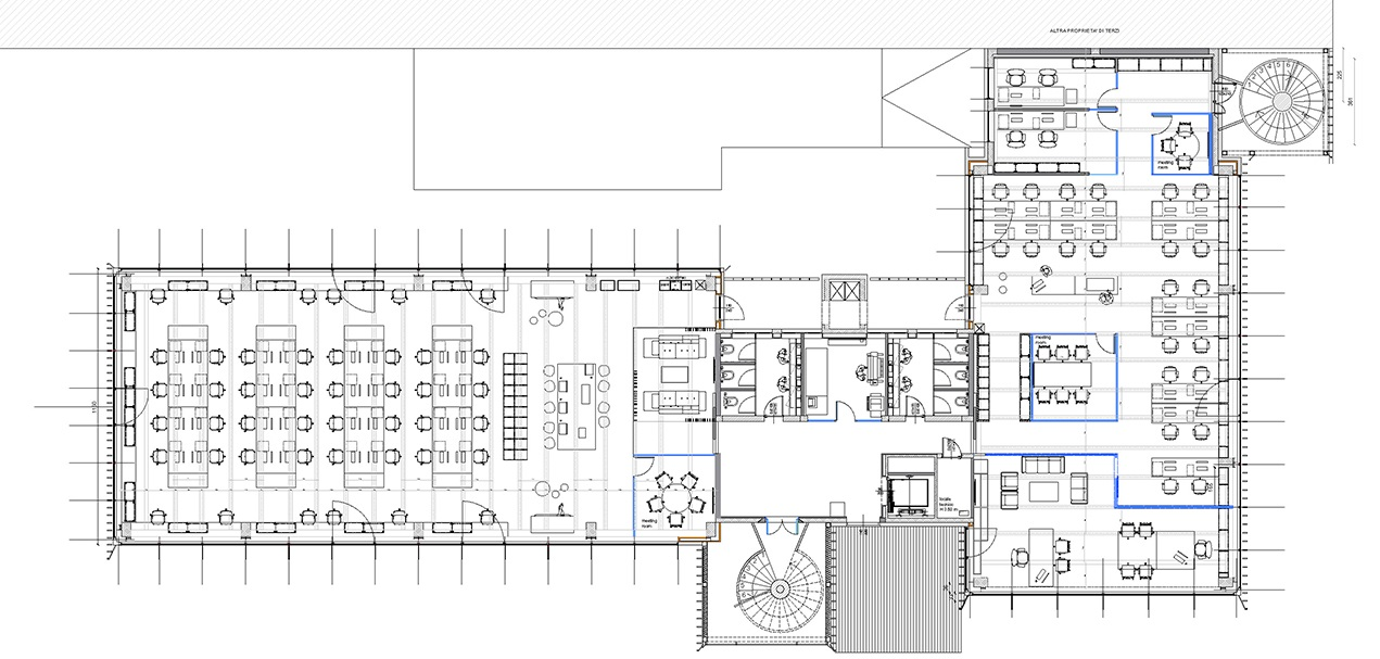 First floor Progetto CMR}