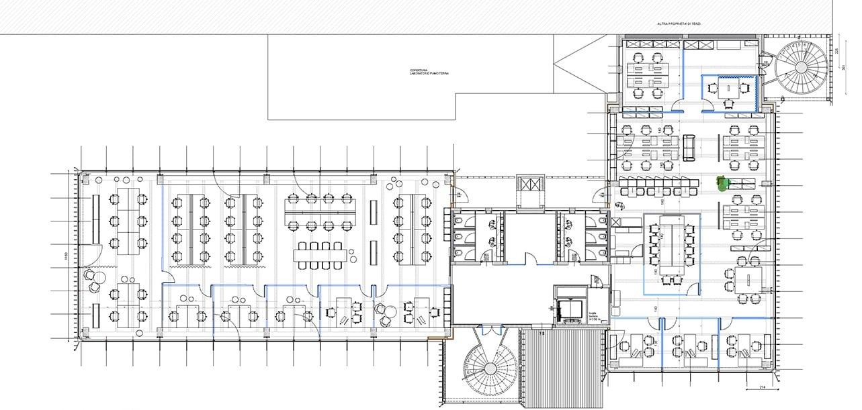 Second floor Progetto CMR}