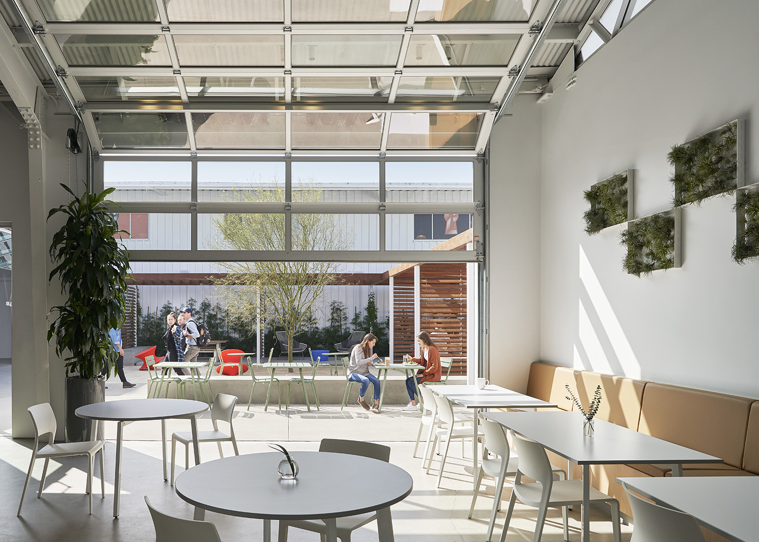 Another opening point to the courtyard for maximum natural light and movement. Kevin Scott