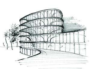 Design sketch RAU Architects}