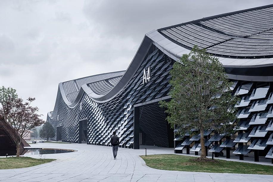 Expo Centre Facade Schran Images