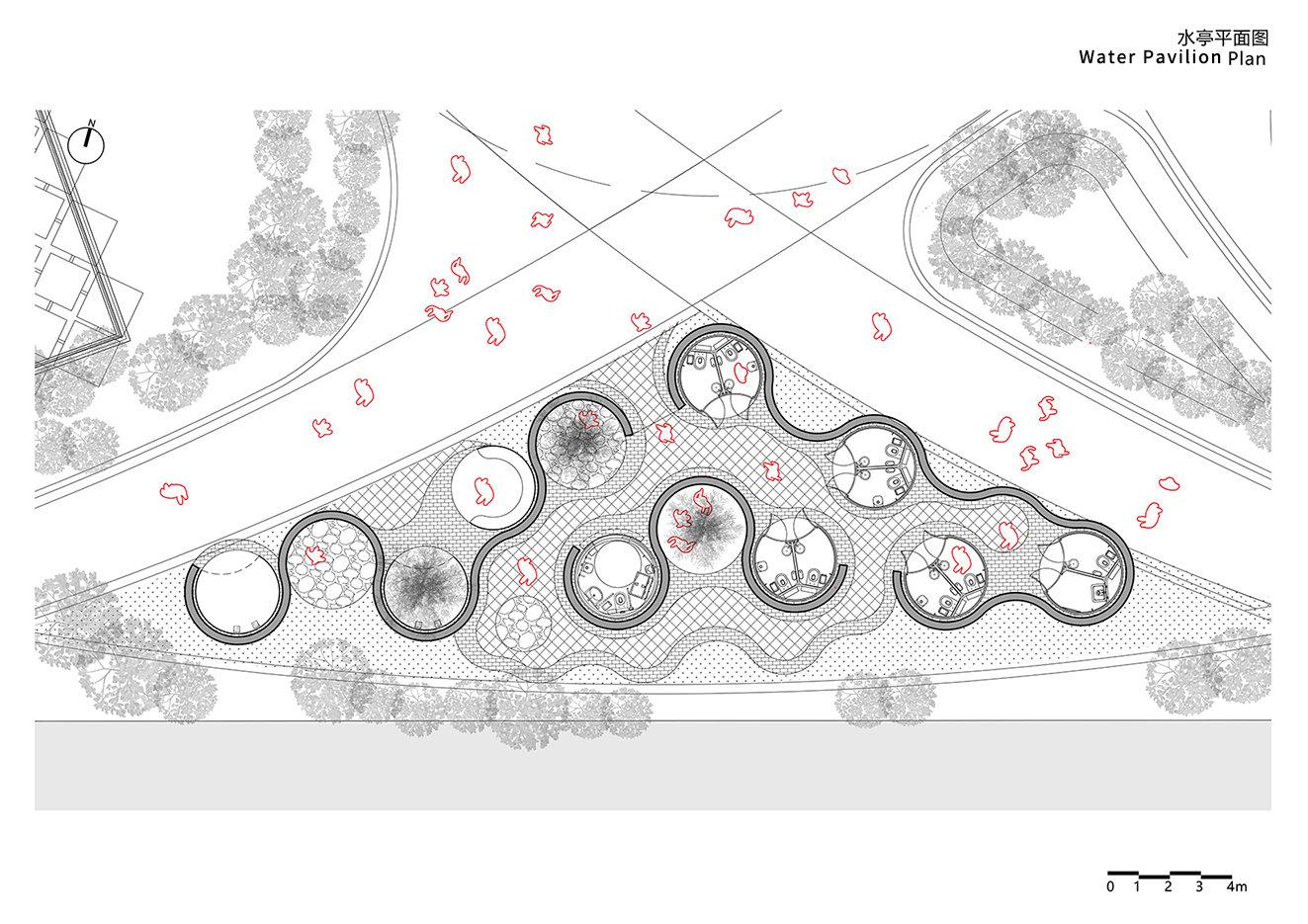 Water Pavilion Plan Archi-Union & Fab-Union}