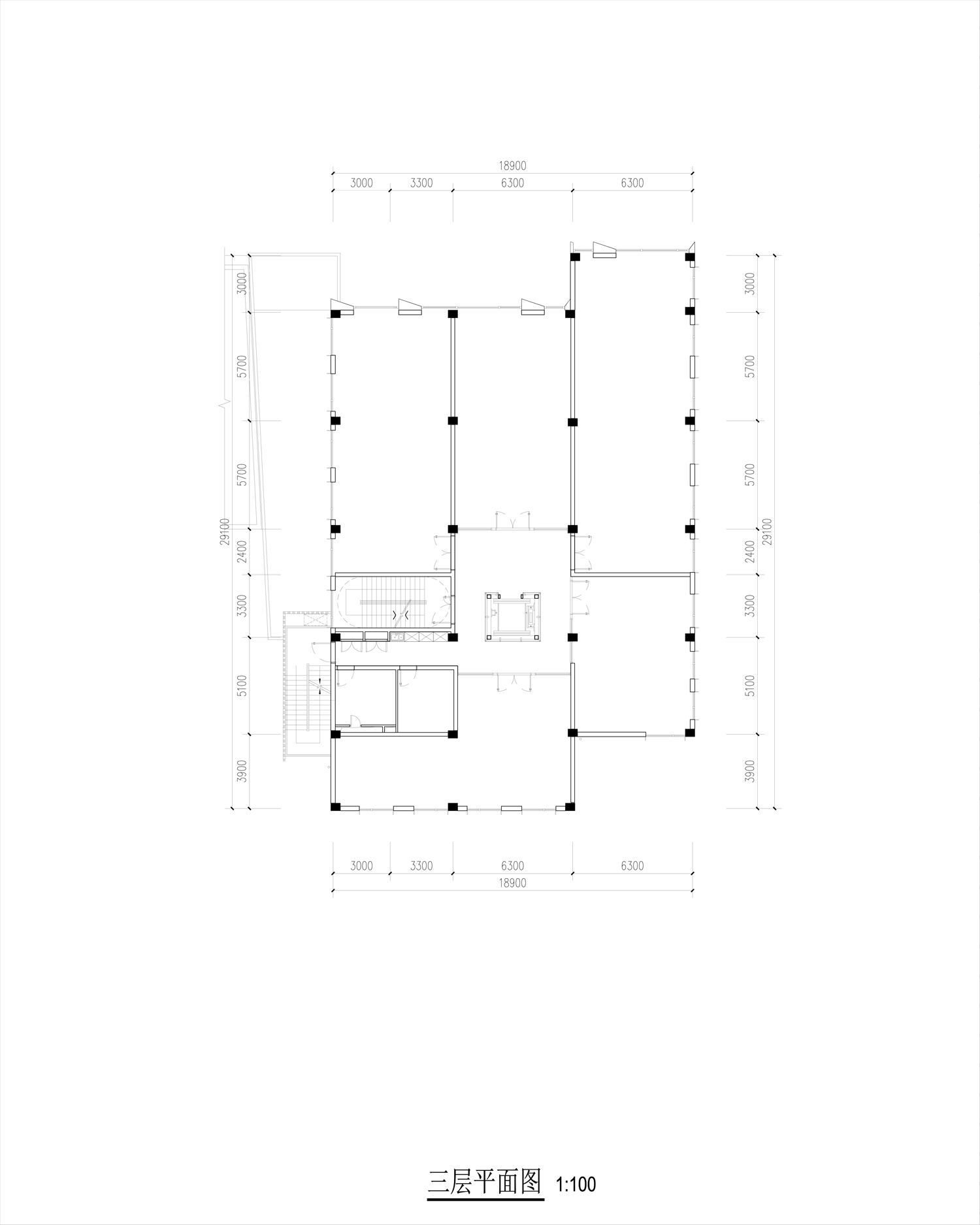 second floor plan Lacime Architects}