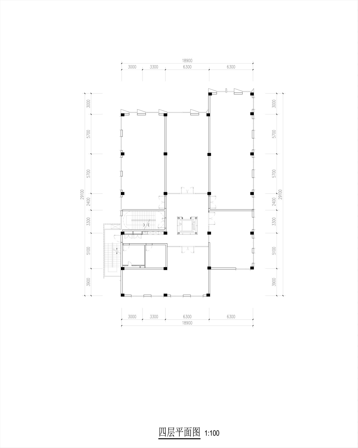 third floor plan Lacime Architects}