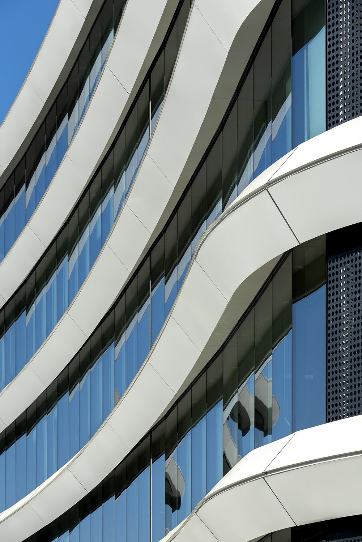 Dettaglio fascioni facciata Moreno Maggi