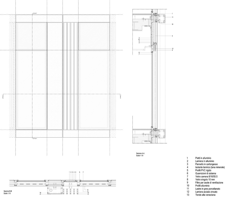 HEADQUARTER CHIESI_tipologia cellule B EFA studio di architettura}