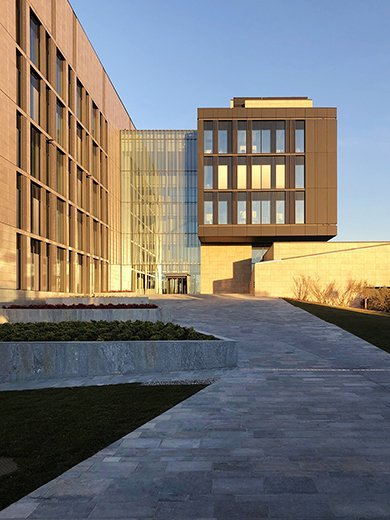 The main entrance EFA studio di architettura _ Photo