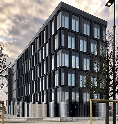 The east facade EFA studio di architettura _ Photo