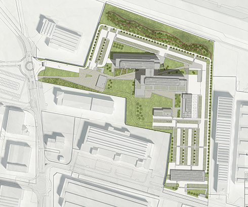Planivolumetric system EFA studio di architettura _ Photo