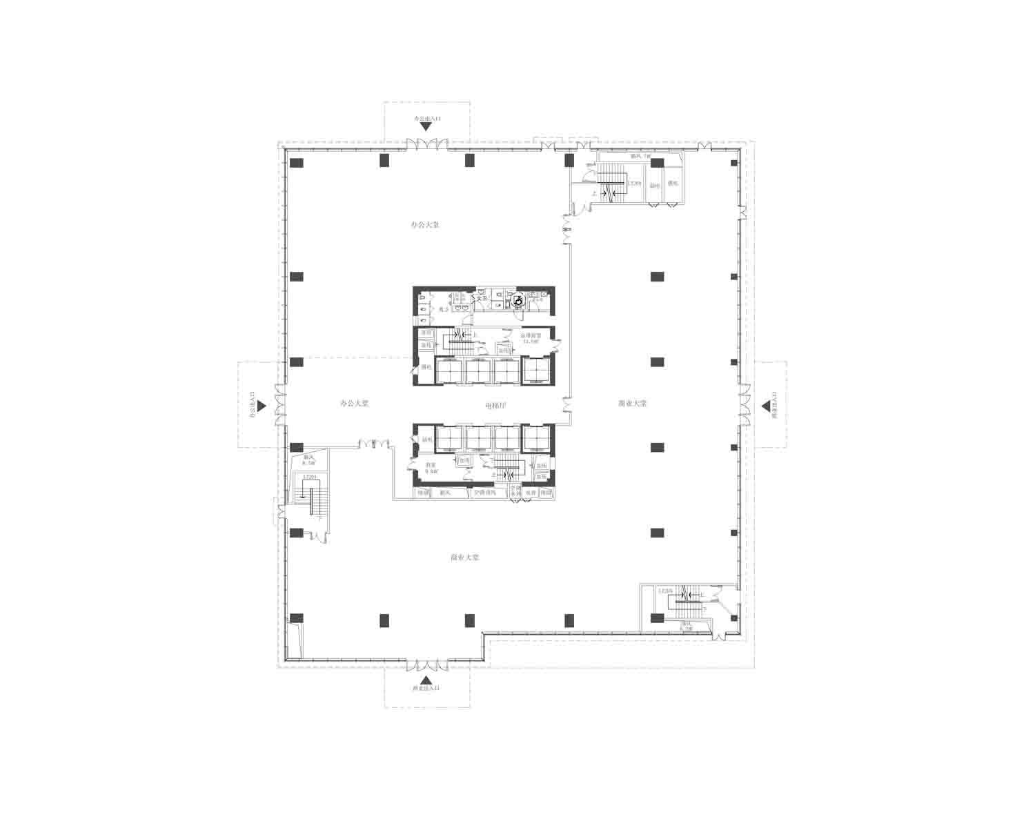 A2 First floor plan Own the copyright}