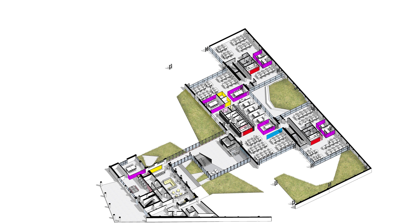 Econocom Village_modello_3D_forgiatura_1 Il Prisma}