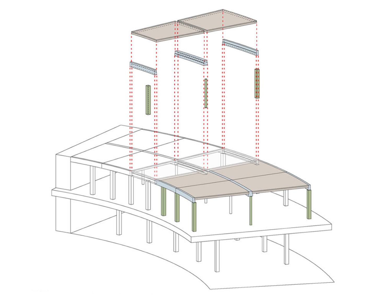 Modular prefabricated structure Dietrich | Untertrifaller Architekten ZT GmbH}