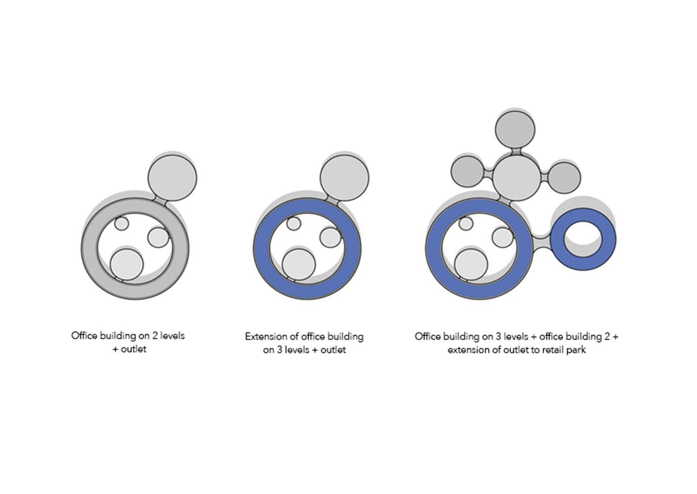 Construction phases for expansion Dietrich | Untertrifaller Architekten ZT GmbH}