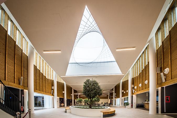 La hall principale Giuseppe Bongiovanni