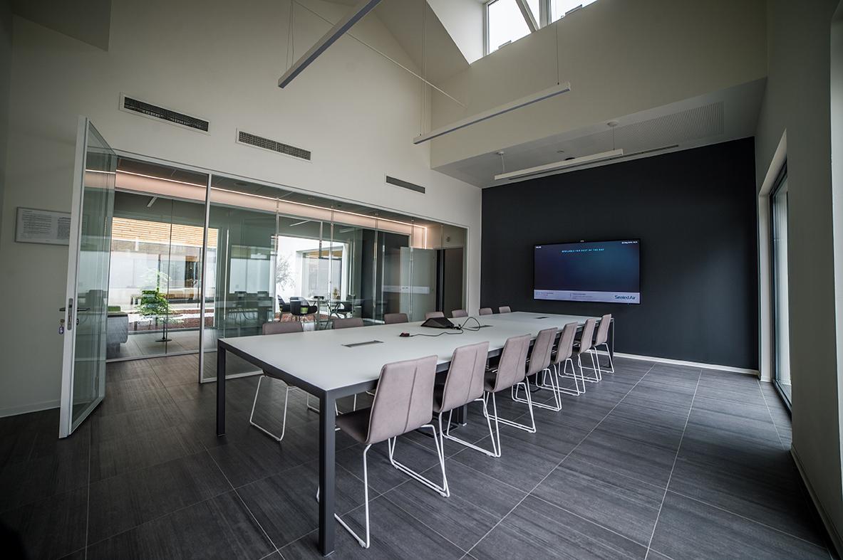 La sala riunioni Giuseppe Bongiovanni