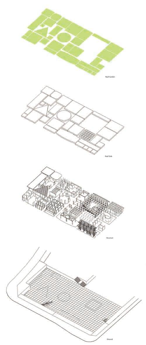 Plot B4, Vanke Design Commune Plot B4, Vanke Design Commune-Axon©NODE}