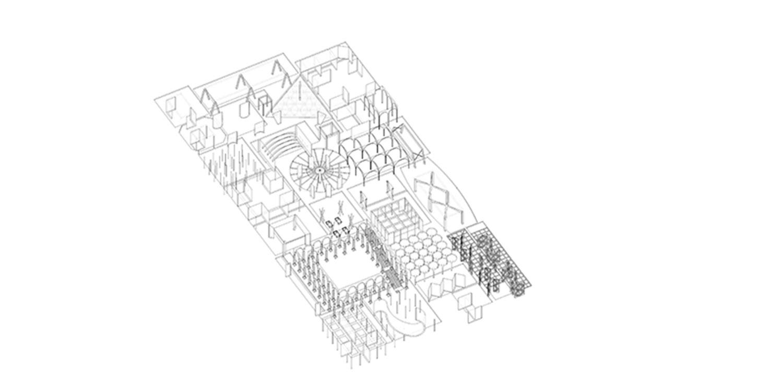Plot B4, Vanke Design Commune Plot B4, Vanke Design Commune-Axonometric diagram©NODE}