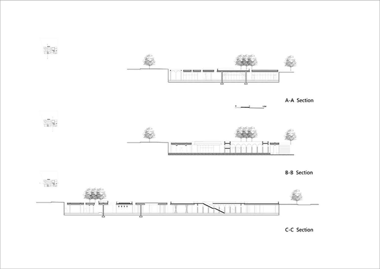 Plot B4, Vanke Design Commune Plot B4, Vanke Design Commune-section©NODE}