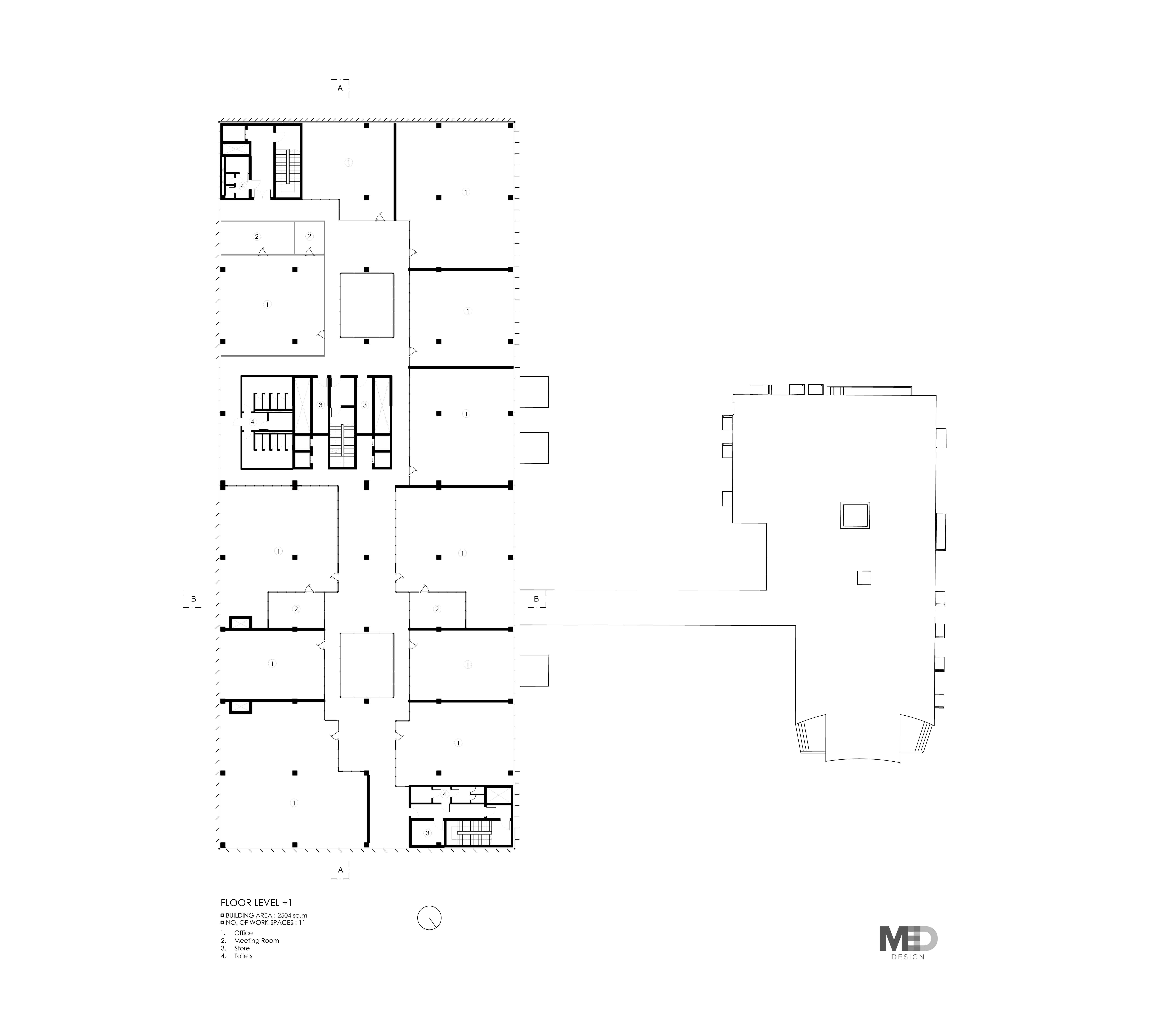First Floor Plan Claudia Gallo}