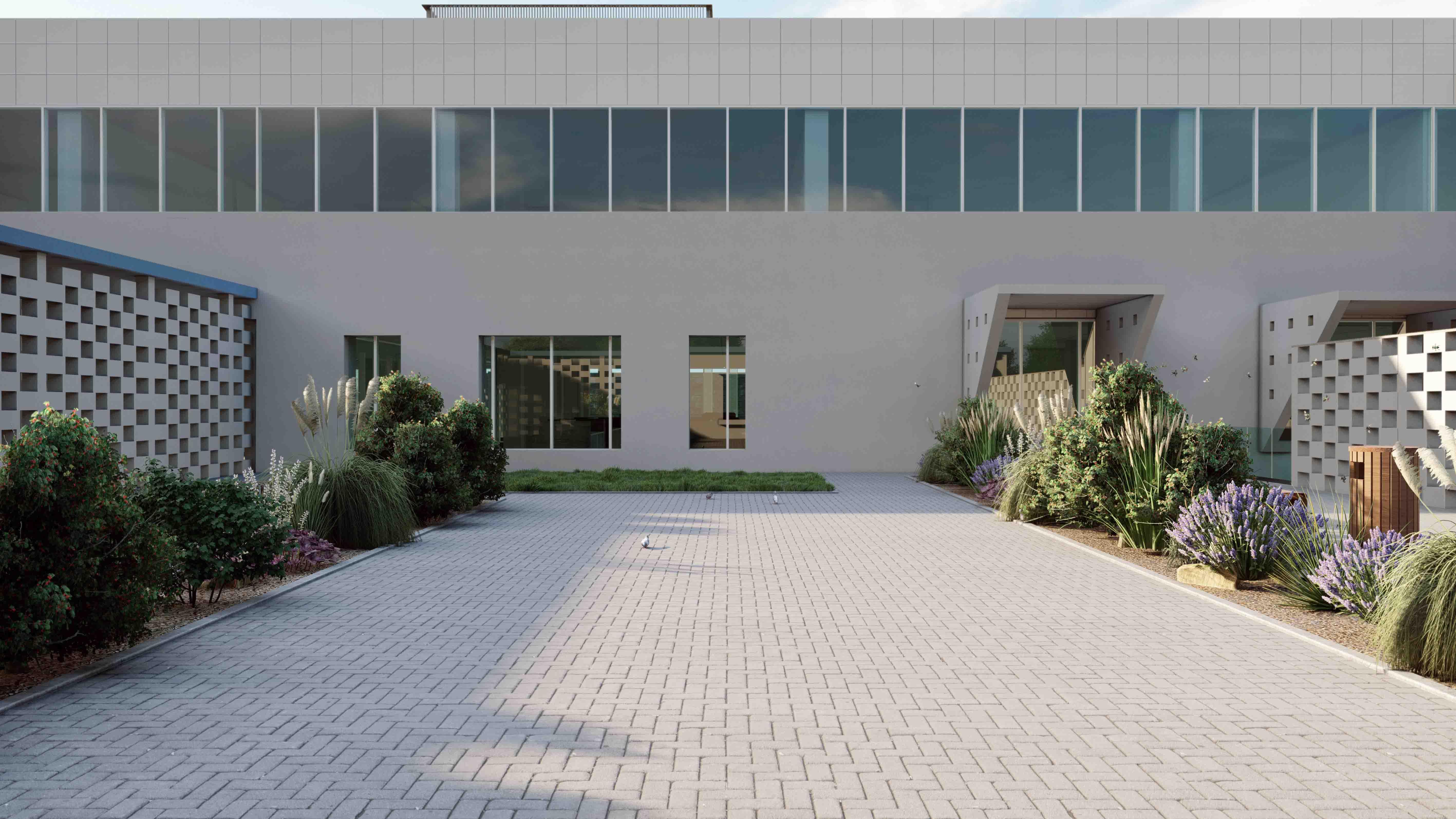Courtyard Marco Boin}