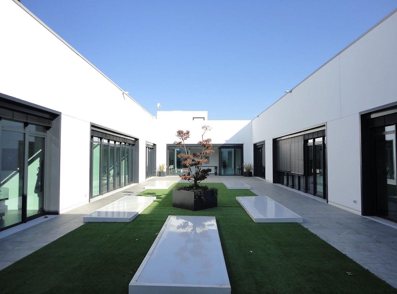 The patio at the second floor Tecnostudio srl