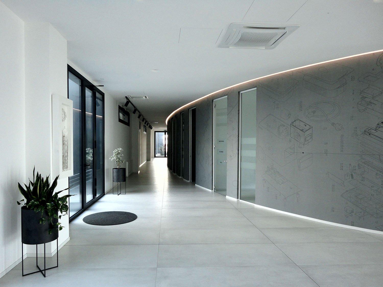 The ellipse at the ground floor Tecnostudio srl