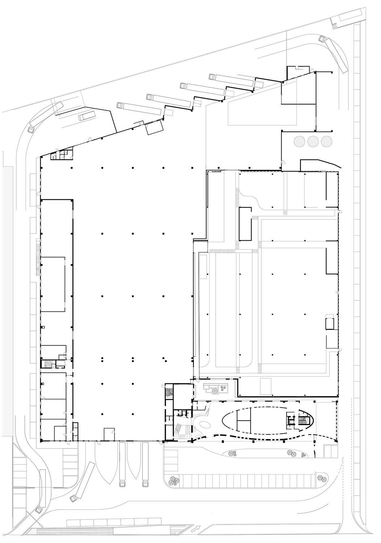 Plan - Ground floor Tecnostudio srl}