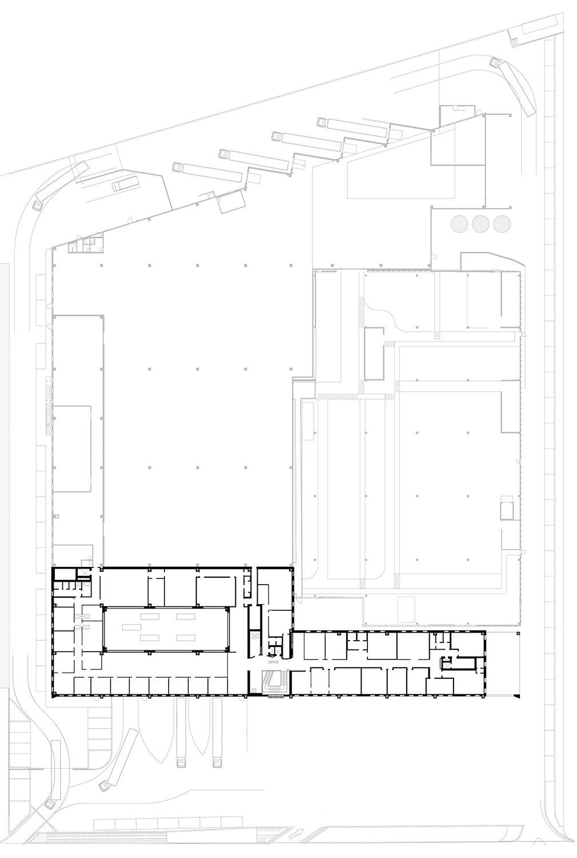 Plan - First floor Tecnostudio srl}