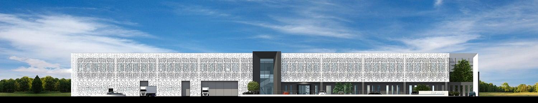 Main facade elevation Tecnostudio srl}
