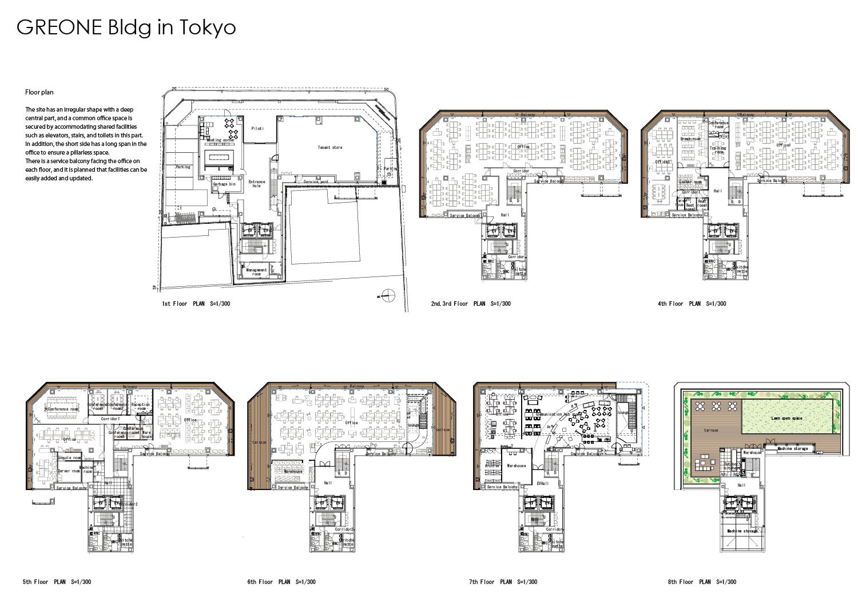 Floor plan Nacása & Partners Inc.}