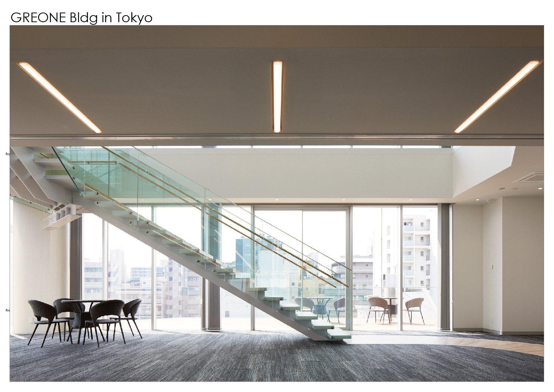 Atrium and terrace. Nacása & Partners Inc.}