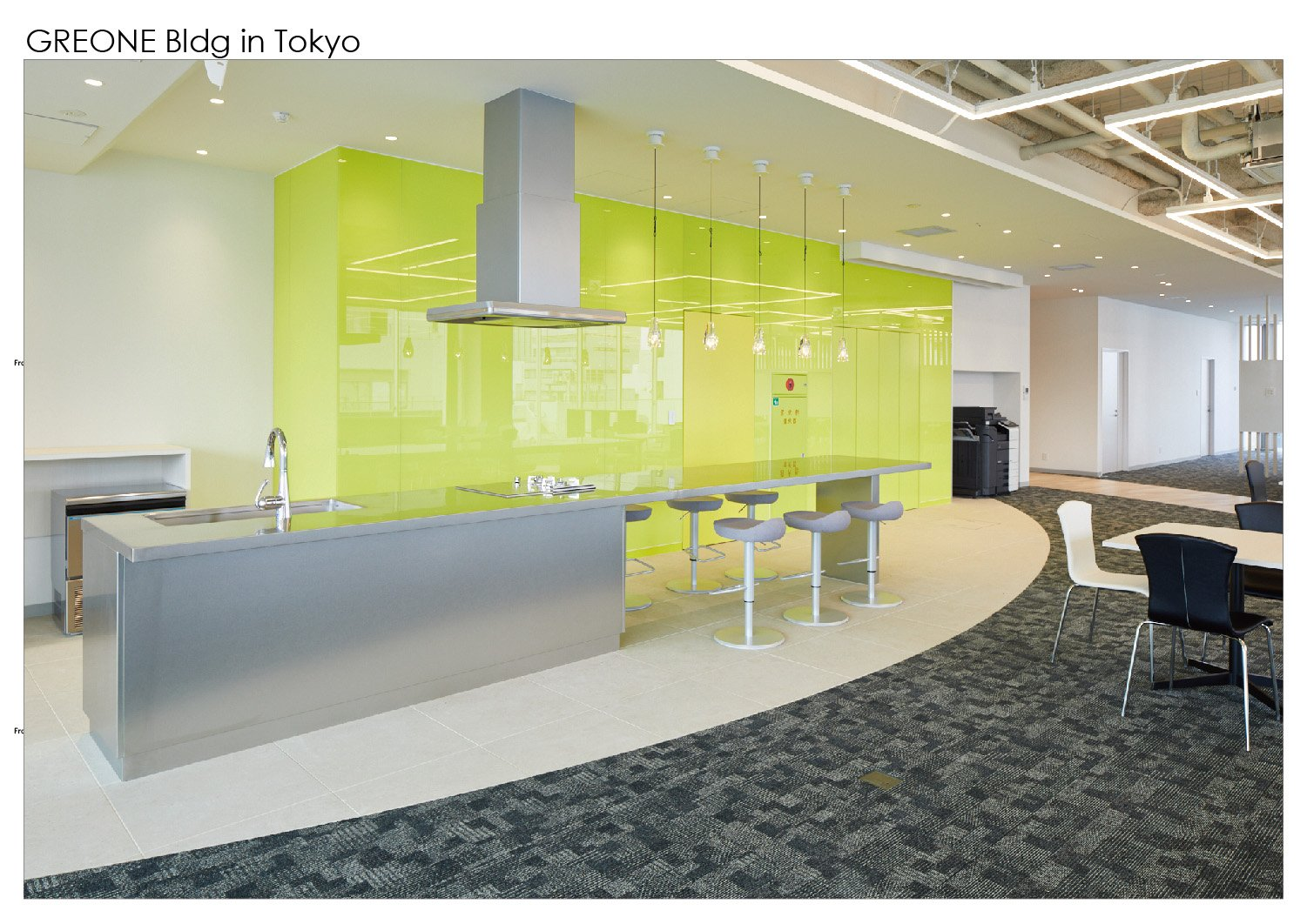 7th floor kitchen space Nacása & Partners Inc.}