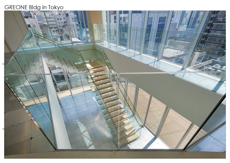 Internal stairs Nacása & Partners Inc.}