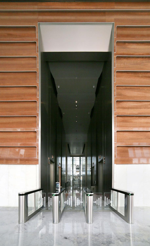Elevators View Jaeger Kahlen Partners Architects Ltd.
