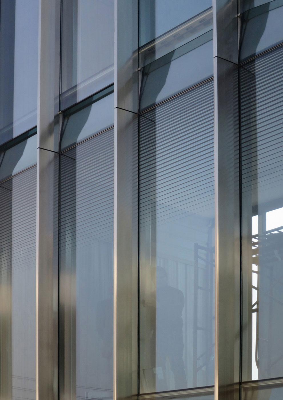 Facade Close Up View Jaeger Kahlen Partners Architects Ltd.